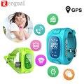 Y3 Niños Inteligentes Miran Pantalla LCD LBS/GPS/GSM/Wifi Triple Monitor de Posición de Seguridad SOS Llaman Contra-perdido Localizador Rastreador Reloj