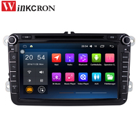 SALE 8 2 Din Android 6 0 Car Radio Audio GPS Navigation For Volkswagen VW Passat