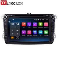 SALE 8 2 Din Android 6 0 Car Radio Audio GPS Navigation For Volkswagen VW Passat