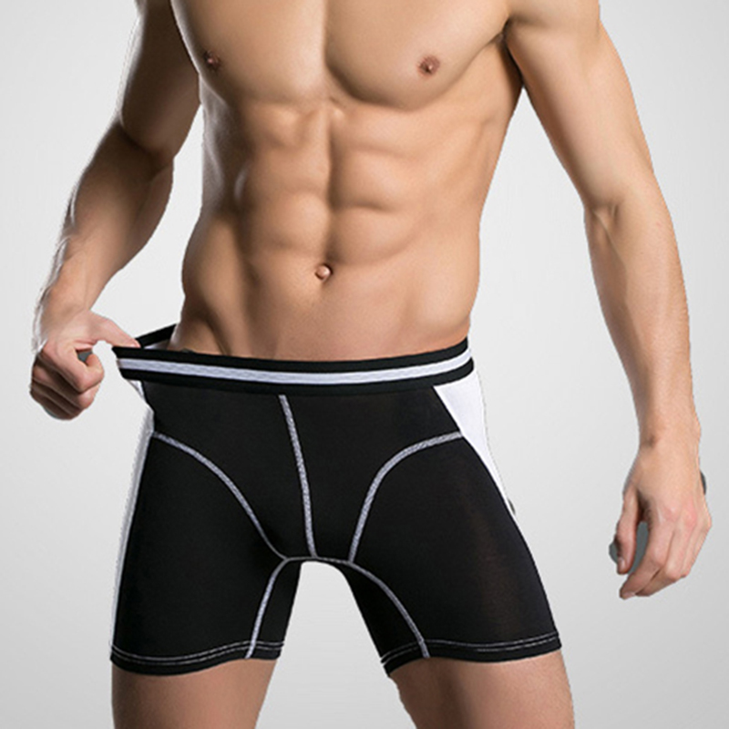 New <font><b>Men</b></font> Underwear <font><b>Boxers</b></font> Long Leg <font><b>Short</b></font> <font><b>Boxer</b></font> Homme Panties Calzoncillos <font><b>Men's</b></font> Boxershorts Man Heren Ondergoed Lange Pijpen XXXL image