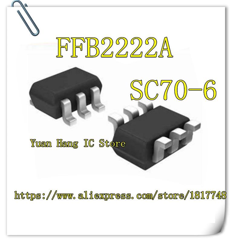 20pcs FFB2222A TRANSISTOR NPN DUAL 40V SC70-6 FFB2222 2222 FFB22 2222A FFB2 2222A