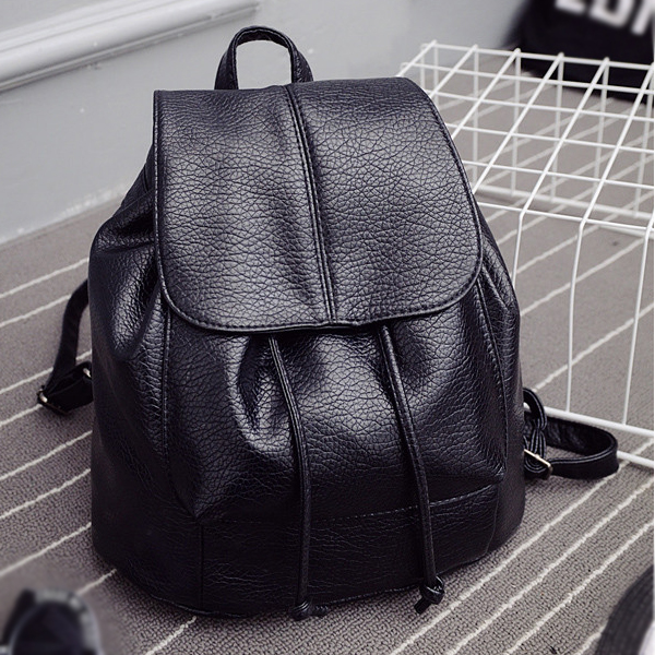 Hot Fashion Summer School New College Wind Bag Women Washed Leather Backpack Korean Tidal Fashion Leisure Travel Bag Boutique