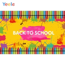 Yeele Party Photocall Back To School Pencil Graffiti Photography Backdrop Personalized Photographic Backgrounds For Photo Studio