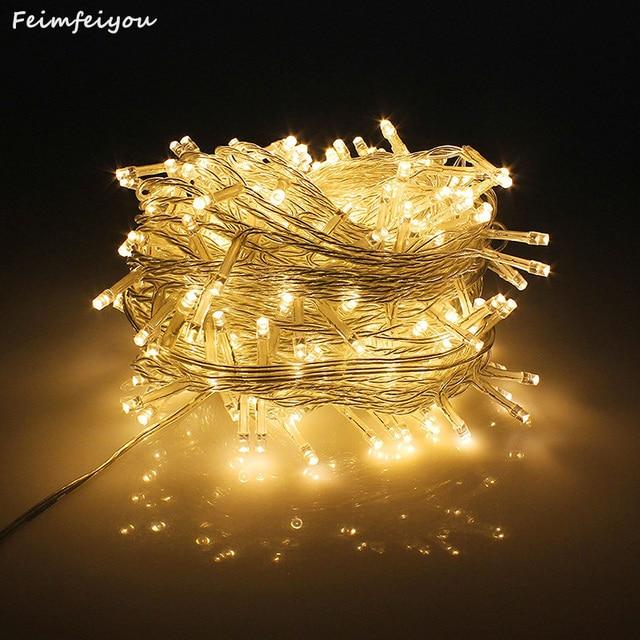 Christmas lights 50M 400 SMDs LED String Strip Garlands EU/UK/US/AU & Christmas lights 50M 400 SMDs LED String Strip Garlands EU/UK/US/AU ...