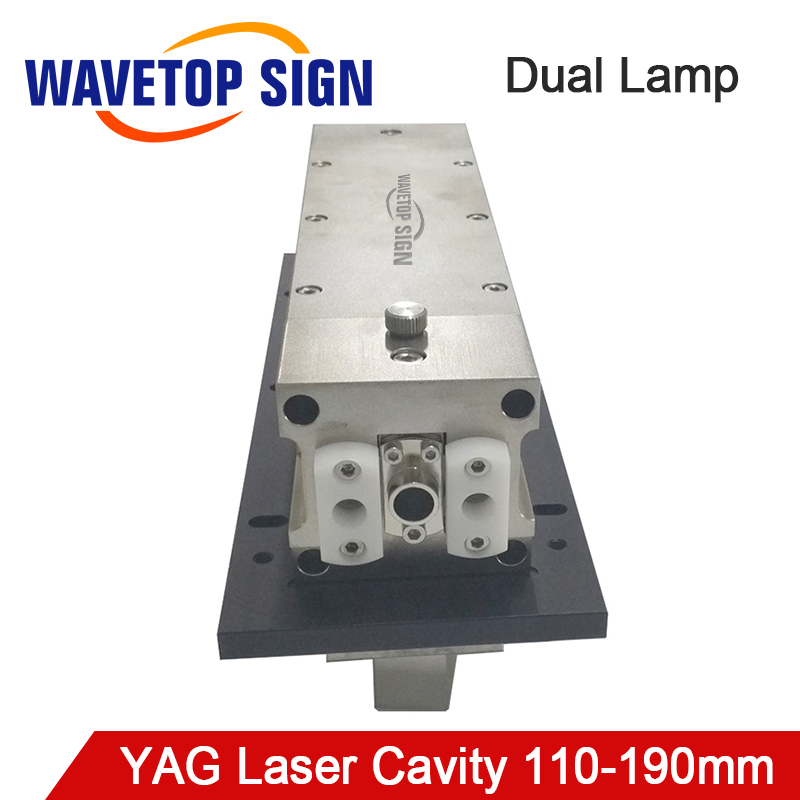 WaveTopSign Dual Lamp Laser Cavity Reflector Cavity Length 110-190mm use for YAG Laser Welding and Cutting MachineWaveTopSign Dual Lamp Laser Cavity Reflector Cavity Length 110-190mm use for YAG Laser Welding and Cutting Machine