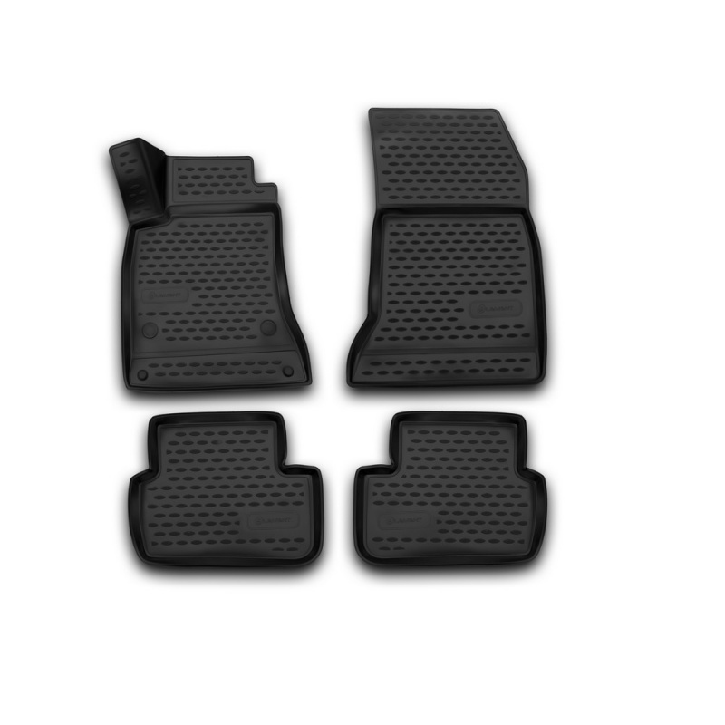 цена на Car Mats 3D salon For MERCEDES-BENZ B-Class W246, 2011-> 4 PCs (polyurethane)