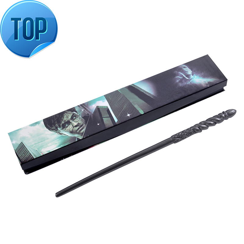 2018  Movie Cosplay Ginny Weasley Silver Grey Magical Wand Magic Toys For Kids Children