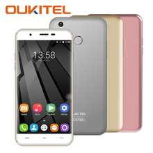 Original OUKITEL U7 Plus Smartphone Android 6.0  Quad Core 1.3GHz MTK6737 16G ROM 2G RAM 5.5 Inch Mobile Phone 8.0MP Fingerprint