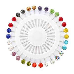 DCEE Hijab Pins Set 30PCS Crystal Brooches For Women Scarf