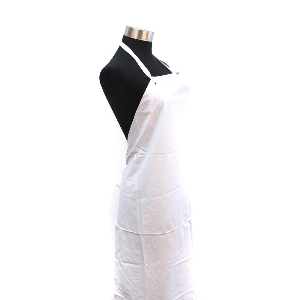 White rubber apron - Waterproof Unisex Heavy Duty Apron Restaurant Bib Be Great For Kitchen Duty White