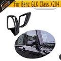 Замена углерода автомобиля боковое зеркало крышка для Mercedes Benz GLK класса X204 2012 2013 2014 2015 2016 Белый Хром