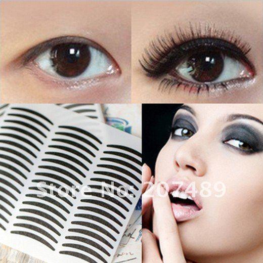 (28PC/Sheet) black stripe make up eyeliner sticker Double Eyelid transfer Tape  Smoky Tattoo