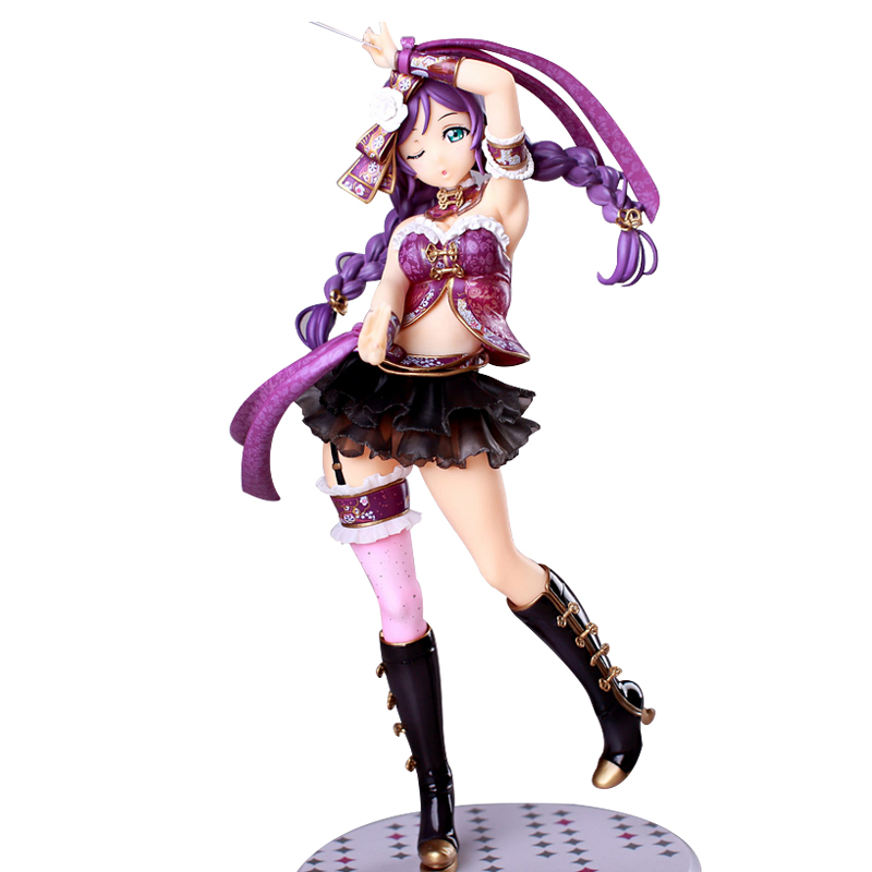 ZXZ Anime Love Live! Alter 23cm Sexy Nozomi Tojo PVC Action Figure Toys Collection Model Gifts игрушка аниме alter to love