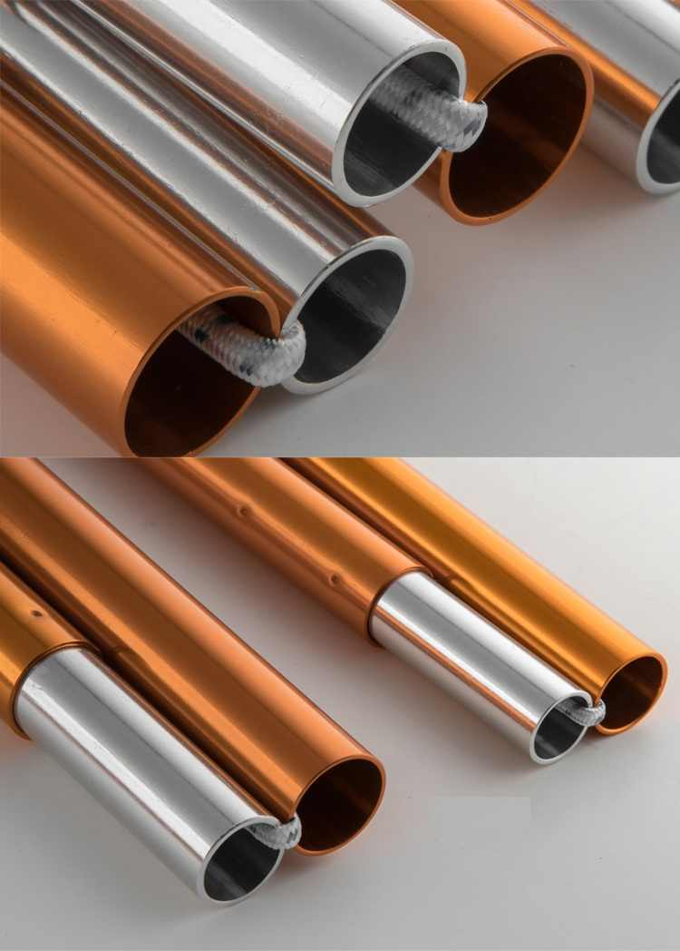 2 pcs 3F Ul Engrenagem Ultraleve Ultraleve Pólos Encerado 7075 Alumínio Suporte Haste Toldo Sol Abrigo