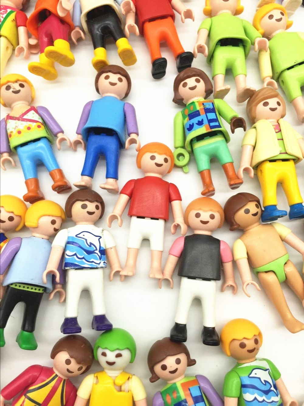 1 Pieces 5cm Germany Genuine Randomly Sent Playmobil Dolls Action Toys Figures Classical Collection Toys for Children