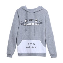 Totoro Animal Spring/Autumn Hoodie