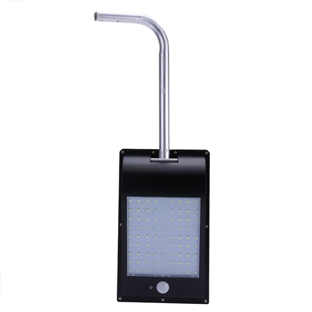 81pcs SMD2835 LED IP65 Waterproof PIR Motion Sensor Solar Power Outdoor Garden Street Security Solar Lamp White Light MFBS