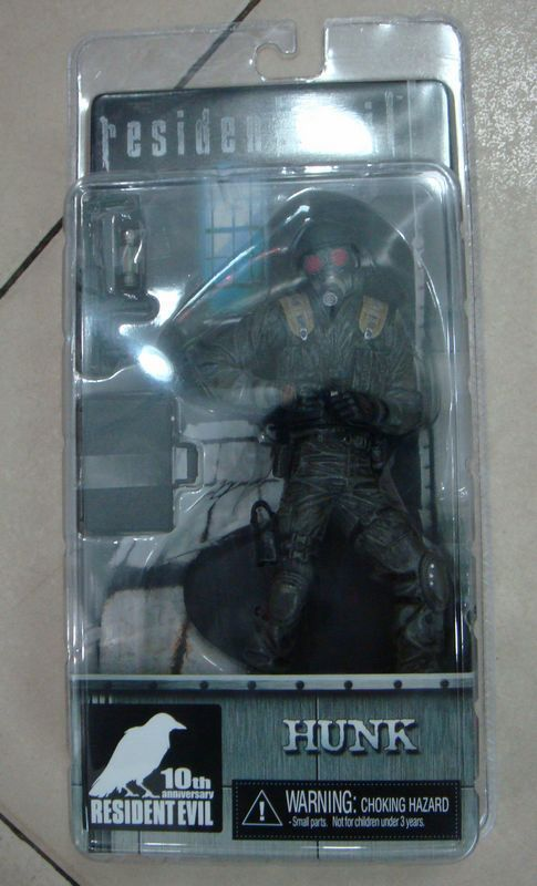 """NECA Hunk 10th anniversary Resident Evil ARCHIVES SERIES 2 Action Figure 7/""""18cm"""