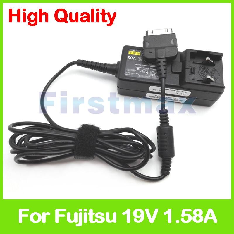 все цены на  19V 1.58A 30W AC power adapter ADP-30VH A CP568150-01 FPCAC118 for Fujitsu Fujitsu Slate Q550 Stylistic M532 Tablet no ac plug  онлайн