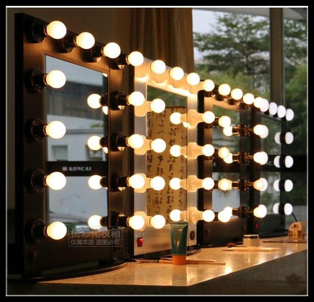 Profession aluminum framed hair salon mirror salon mirror for Beauty salon mirrors with lights