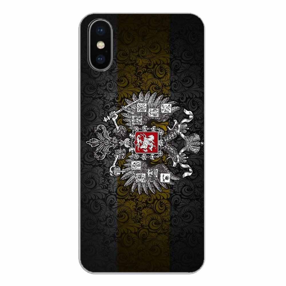 Для Xiaomi Redmi 4x S2 3 S Note 3 4 5 6 6A Por Pocophone F1 mi 6 силиконовый чехол для телефона покрыть русский пальто дужки с рисунком флага