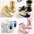 2016 Hot sale baby girl and boy shoes fashion bling Wing shoes baby outdoor casual sport shoes 4 colors