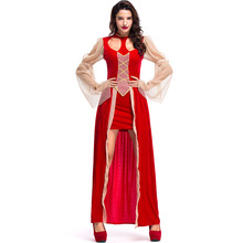 Umorden Adult Women Sexy Classy Medieval Dress Renaissance Cutie Costume Halloween Carnival Party Costumes