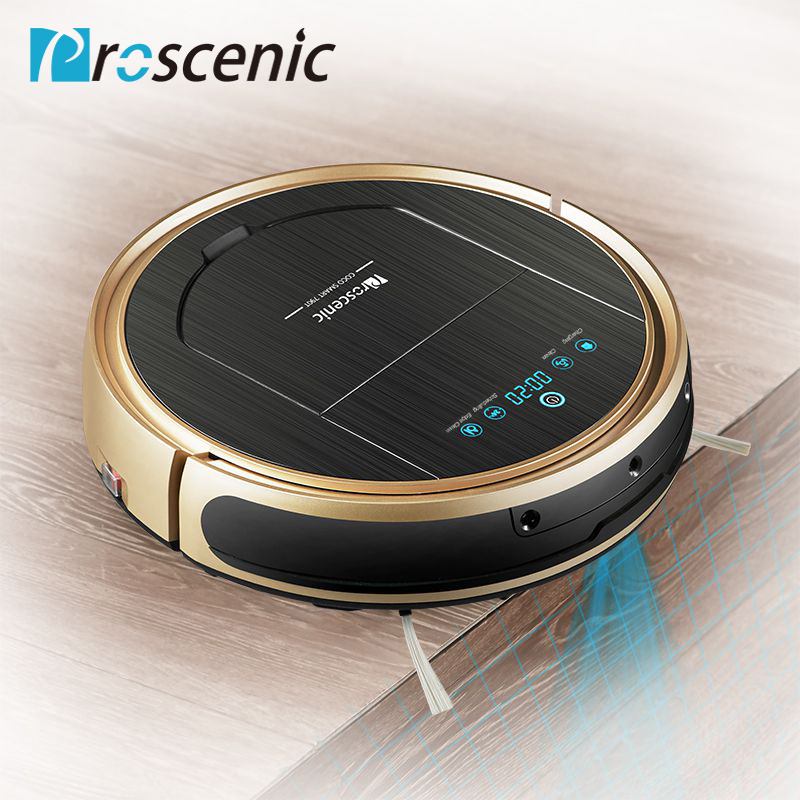 Proscenic 790T Robot Vacuum Cleaner Powerful Suction with APP Map Schedule Auto Charge Pet Hair Cleaning Robot Vacuum