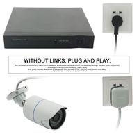 2016 Новинка поступление 4ch 720 P Wi Fi беспроводного видеонаблюдения plug and play камеры системы безопасности с ПЛК линия кабель питания