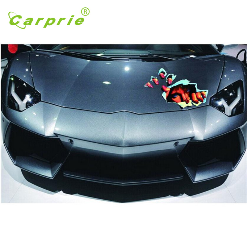 Car-styling Car Sticker Hot Sale 3D Simulation of the Girl eyes personalized funny Stickers June20