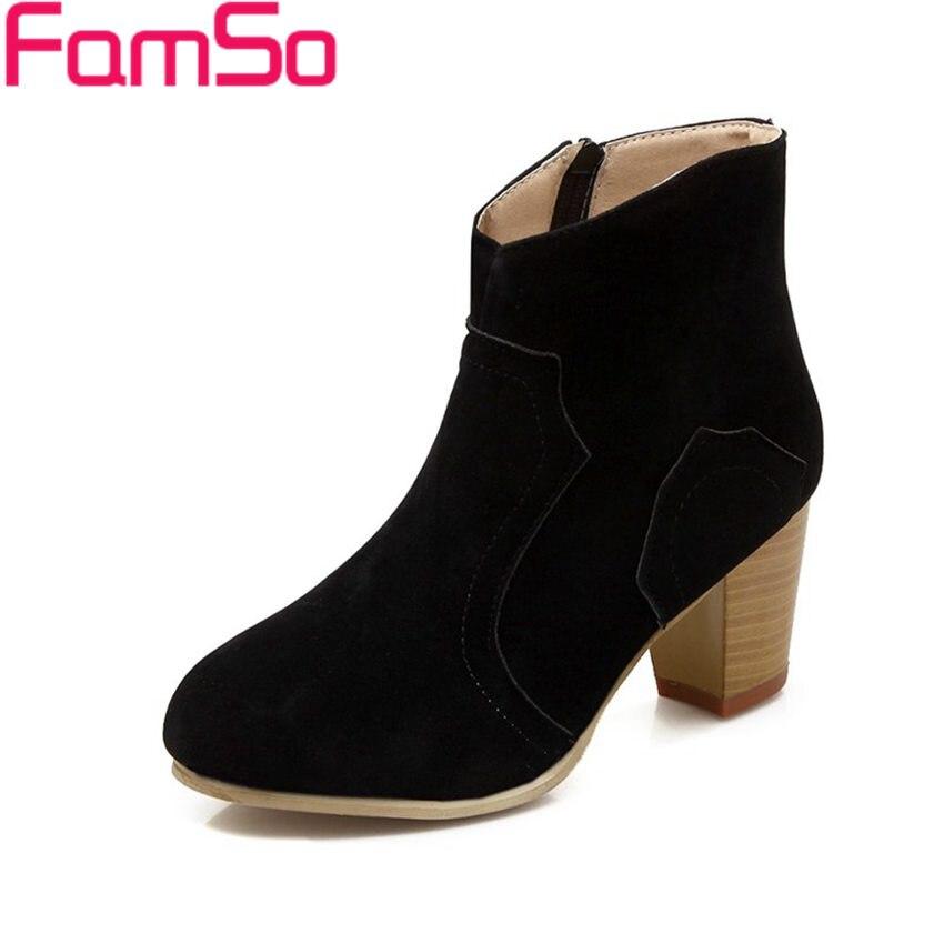 Free shipping 2016 new font b Women b font Boots High Heels Autumn pumps black Lady