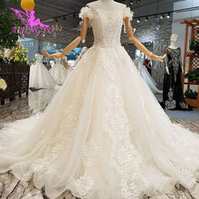 AIJINGYU חתונת Dres רוסית פדרציה לבנון שנחאי בתוספת גודל פקיסטני 2021 2020 חתונה שמלות ושמלות