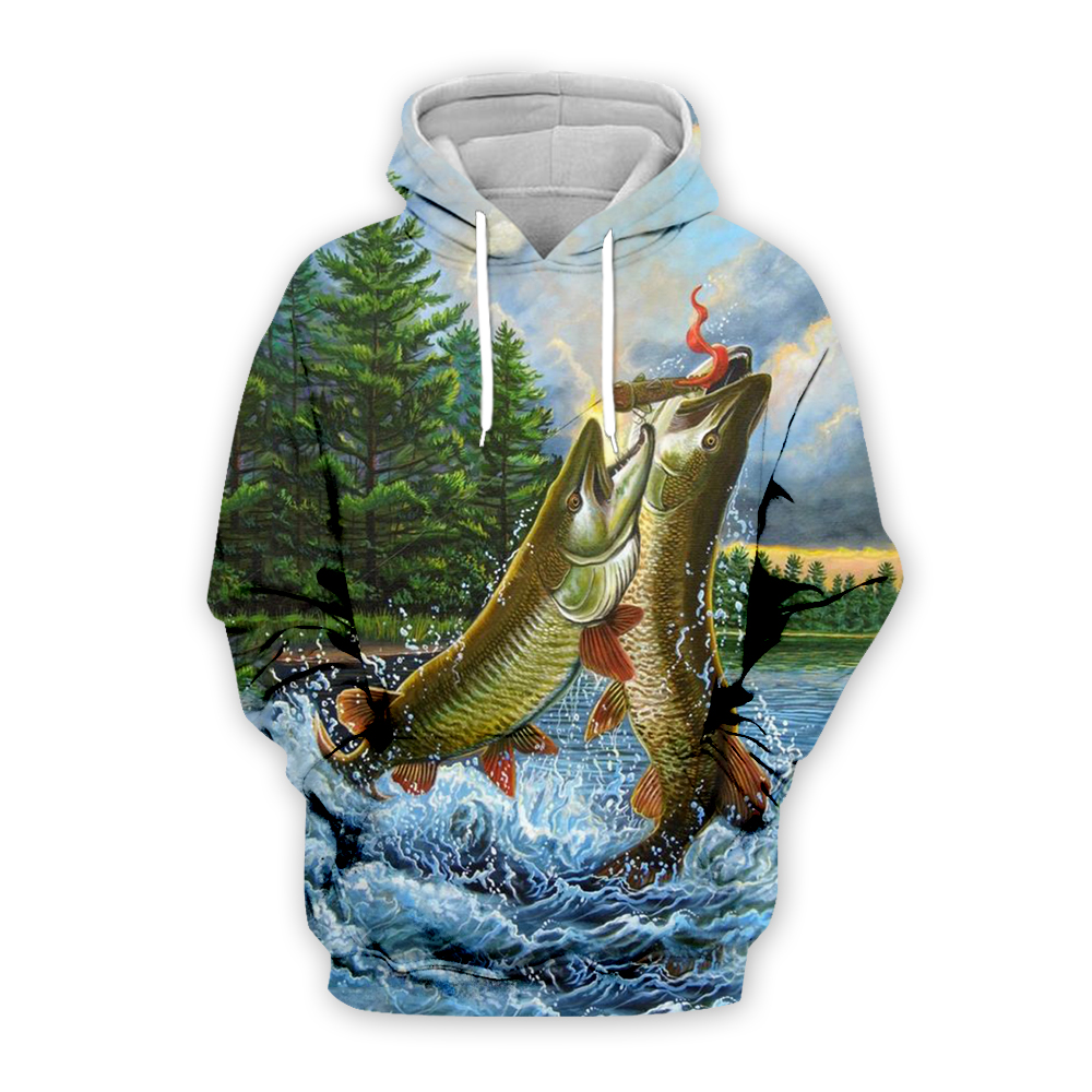 Plstar Cosmos 3D Fishing Clothes All Over Printed Shirts Tee 3D Print Hoodie/Sweatshirt/Jacket/Zipper Man Women Hip Hop Style-10