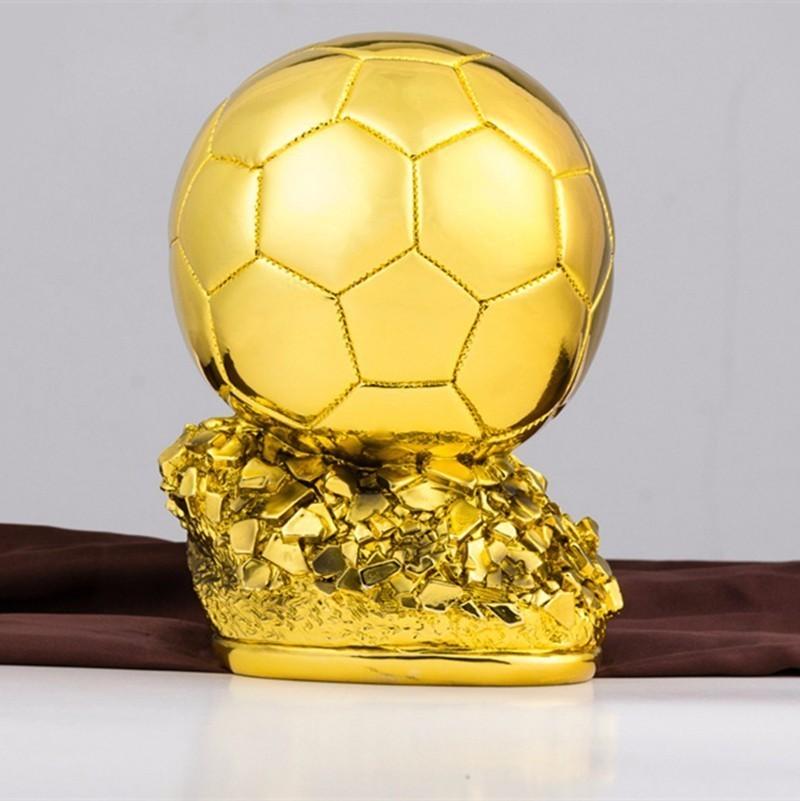 Sincere 25cm 1:1 Lifelike Replica Ballon Dor Trophy 2018 World Best Player Award Golen Ball Cup France Football Fantasy Soccer Prize Yet Not Vulgar Cheerleading & Souvenirs Sports Souvenirs