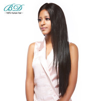 BD HAIR Long Hair Weave 30 40 Brazilian Straight Human Hair Weaves Virgin Hair Extensions Natural Color Free Shipping