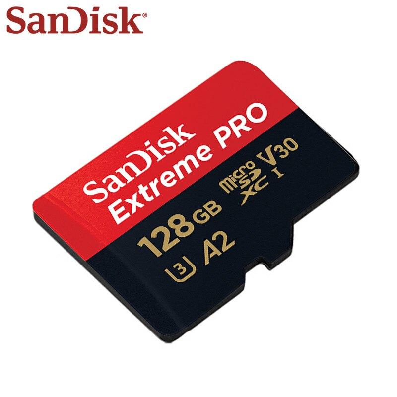 En gros SanDisk Micro carte SD 128GB UHS-I SDXC carte mémoire A2 U3 carte Flash 32GB TF carte 5 + 1 pour téléphone tablette PC - 4