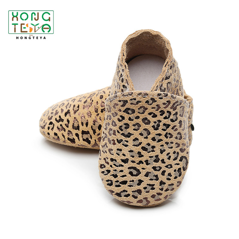 Baby Shoes Leopard Baby Moccasins Genuine Leather First Walker Shoes Soft Sole Toddler Shoes Infant Baby Baby Shoes Boy