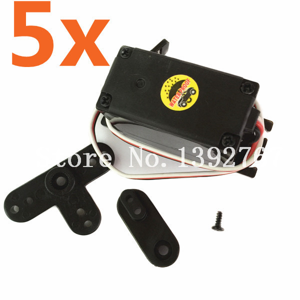 5pcs hsp 02073 electronic servo motor 3kg high torque for 100 kg servo motor