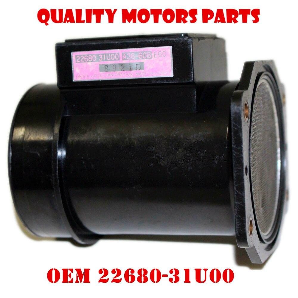 Maxima 95 99 Mass Airflow sensor for Nissan OEM 22680 31U00 2268031U05 for infiniti i30 MAF