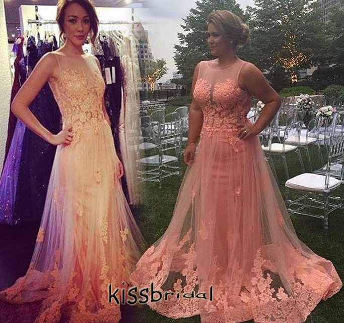 Online Get Cheap Peach Pink Prom Dresses -Aliexpress.com | Alibaba ...