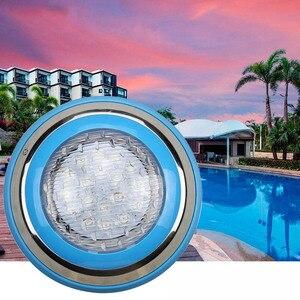 Image 5 - 12 12v マリンボート RGB LED 水中ライトリモートコントロールスイミングプール池屋外照明