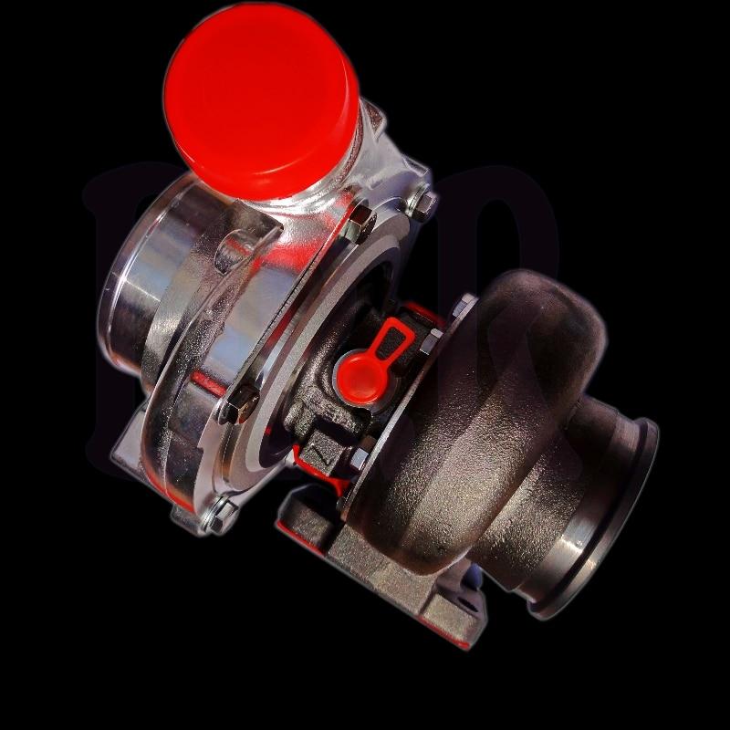 V-band A / R 1.06 turbocompresor grande GTX3582R doble rodamiento de - Autopartes