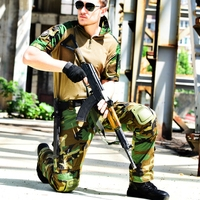 Military Tactical Suit with Knee Pads Military Airsoft Uniform Army Hunting Clothes Training Combat Uniform Shirt & Pants