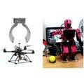 Elecrow Роботизированная All-металлический Коготь для Манипулятора Захвата Краткий Металла, Механические Когти DIY Комплект для Сборки Робота Электрические Игрушки Комплект