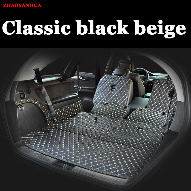 Custom Fit Car Trunk Mat For Mercedes Benz R Class R320 R350 S350/400  GLC260 GLA220 B200 GLE320 GLK300 Car Styling Carpet Liner