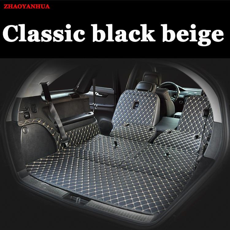 Custom Fit Car Trunk Mat For Mercedes Benz R Class R320 R350 S350/400  GLC260 GLA220 B200 GLE320 GLK300 Car Styling Carpet Liner