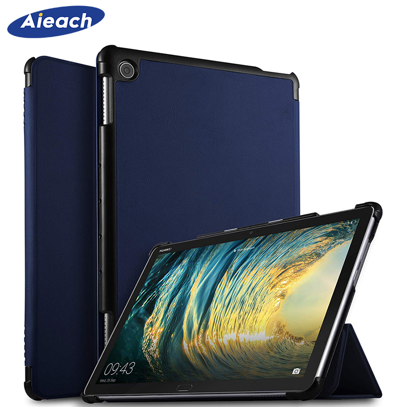 Ultra Slim Case For Huawei MediaPad M5 Lite 10 Smart PU Leather Magnetic Cover For Huawei MediaPad M5 Lite 10.1 BAH2-W19/L09/W09