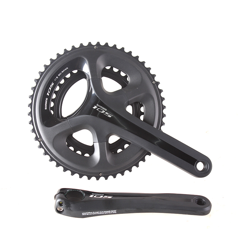 SHIMANO FC 5800 105 11S 22S 53-39T 50-34T 170mm 172.5mm Chain Wheel Crankset Bicycle Components Road Bike Chain Wheel Parts shimano 105 5800 dual control lever shift lever 2 11s 22s derailleurs road bicycle for tour and relaxing bike components parts