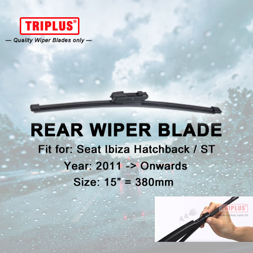 Front and Rear Blades 3 x Blades AVENSIS Estate Sep 1997 to Feb 2003 Windscreen Wiper Blade Set