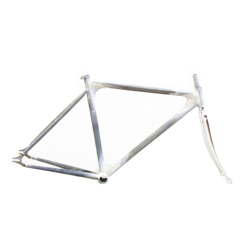 Columbus Chromoly Steel RAW  Frame Lug Track Bike Frameset Velo Pursuit Fixed Gear Bike Customized  Frame